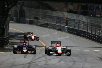 World © Octane Photographic Ltd. Manor Marussia F1 Team MR03 – William Stevens. Sunday 24th May 2015, F1 Race, Monte Carlo, Monaco. Digital Ref: 1286LB1D8224