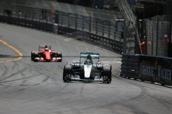 World © Octane Photographic Ltd. Mercedes AMG Petronas F1 W06 Hybrid – Nico Rosberg. Sunday 24th May 2015, F1 Race, Monte Carlo, Monaco. Digital Ref: 1286LB1D8236