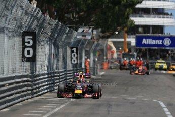 World © Octane Photographic Ltd. Infiniti Red Bull Racing RB11 – Daniil Kvyat. Sunday 24th May 2015, F1 Race, Monte Carlo, Monaco. Digital Ref: 1286LB1D8370