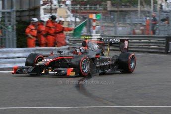 World © Octane Photographic Ltd. Thursday 21st May 2015. Rapax – Robert Visoiu. GP2 Qualifying – Monaco, Monte-Carlo. Digital Ref. : 1275CB7D3766