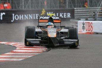 World © Octane Photographic Ltd. Thursday 21st May 2015. Hilmer Motorsport – Johnny Cecotto. GP2 Qualifying – Monaco, Monte-Carlo. Digital Ref. : 1275CB7D3970