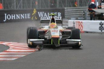 World © Octane Photographic Ltd. Thursday 21st May 2015. Campos Racing – Rio Haryanto. GP2 Qualifying – Monaco, Monte-Carlo. Digital Ref. : 1275CB7D4010