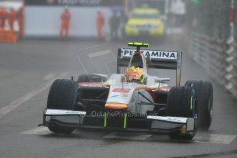 World © Octane Photographic Ltd. Thursday 21st May 2015. Campos Racing – Rio Haryanto. GP2 Qualifying – Monaco, Monte-Carlo. Digital Ref. : 1275CB7D4035