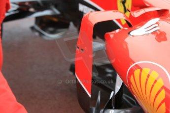 World © Octane Photographic Ltd. Scuderia Ferrari SF15-T– body vane detail. Thursday 21st May 2015, F1 Practice 1, Monte Carlo, Monaco. Digital Ref: 1272CB1L9483