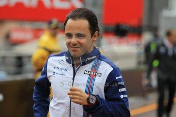 World © Octane Photographic Ltd. Williams Martini Racing FW37 – Felipe Massa. Thursday 21st May 2015, F1 Practice 1, Monte Carlo, Monaco. Digital Ref: 1272CB1L9547