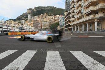 World © Octane Photographic Ltd. Williams Martini Racing FW37 – Valtteri Bottas. Thursday 21st May 2015, F1 Practice 1, Monte Carlo, Monaco. Digital Ref: 1272CB1L9747