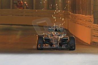 World © Octane Photographic Ltd. Mercedes AMG Petronas F1 W06 Hybrid – Lewis Hamilton. Thursday 21st May 2015, F1 Practice 1, Monte Carlo, Monaco. Digital Ref: 1272CB7D2711