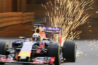 World © Octane Photographic Ltd. Infiniti Red Bull Racing RB11 – Daniel Ricciardo. Thursday 21st May 2015, F1 Practice 1, Monte Carlo, Monaco. Digital Ref: 1272CB7D2827