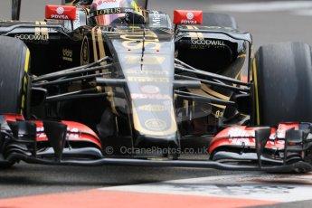 World © Octane Photographic Ltd. Lotus F1 Team E23 Hybrid – Pastor Maldonado. Thursday 21st May 2015, F1 Practice 1, Monte Carlo, Monaco. Digital Ref: 1272CB7D2885