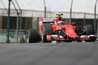 World © Octane Photographic Ltd. Scuderia Ferrari SF15-T– Kimi Raikkonen. Thursday 21st May 2015, F1 Practice 1, Monte Carlo, Monaco. Digital Ref: 1272LB1D3263