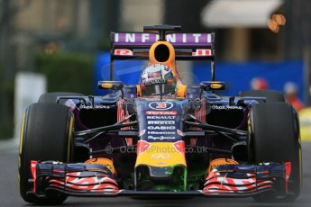 World © Octane Photographic Ltd. Infiniti Red Bull Racing RB11 – Daniel Ricciardo. Thursday 21st May 2015, F1 Practice 1, Monte Carlo, Monaco. Digital Ref: 1272LB1D3430