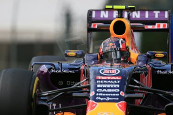 World © Octane Photographic Ltd. Infiniti Red Bull Racing RB11 – Daniil Kvyat. Thursday 21st May 2015, F1 Practice 1, Monte Carlo, Monaco. Digital Ref: 1272LB1D3477