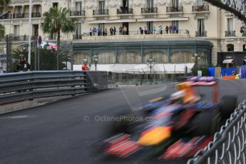 World © Octane Photographic Ltd. Infiniti Red Bull Racing RB11 – Daniel Ricciardo. Thursday 21st May 2015, F1 Practice 1, Monte Carlo, Monaco. Digital Ref: 1272LB5D2712