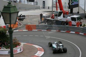 World © Octane Photographic Ltd. Mercedes AMG Petronas F1 W06 Hybrid – Nico Rosberg. Thursday 21st May 2015, F1 Practice 1, Monte Carlo, Monaco. Digital Ref: 1272LB5D2753
