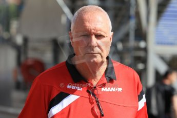 World © Octane Photographic Ltd. Manor Marussia F1 Team MR03 – John Booth. Wednesday 20th May 2015, F1 Pitlane, Monte Carlo, Monaco. Digital Ref: 1270CB1L9121