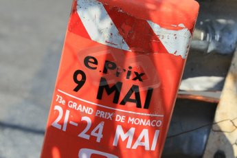 World © Octane Photographic Ltd. Wednesday 20th May 2015, F1 Track walk, Monte Carlo, Monaco, ePrix and F1 safety barriers. Digital Ref: 1270CB1L9156