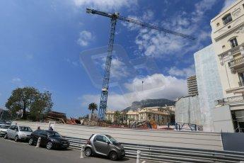 World © Octane Photographic Ltd. Wednesday 20th May 2015, F1 Track walk, Monte Carlo, Monaco. Digital Ref: 1270LB1D2994