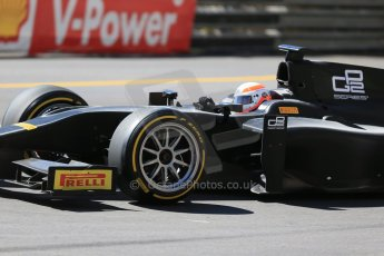 World © Octane Photographic Ltd. Friday 22nd May 2015. GP2/Pirelli 18inch tyre demonstration with Martin Brundle – Monaco, Monte-Carlo. Digital Ref. : 1279LB1D4741