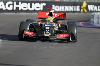 World © Octane Photographic Ltd. Friday 22nd May 2015. Lotus – Matthieu Vaxiviere. WSR (World Series by Renault - Formula Renault 3.5) Practice – Monaco, Monte-Carlo. Digital Ref. : 1277CB1L0074