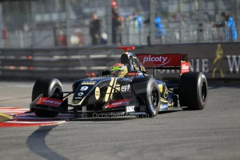 World © Octane Photographic Ltd. Friday 22nd May 2015. Lotus – Matthieu Vaxiviere. WSR (World Series by Renault - Formula Renault 3.5) Practice – Monaco, Monte-Carlo. Digital Ref. : 1277CB1L0243