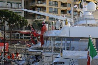 World © Octane Photographic Ltd. Friday 22nd May 2015. Boats in Monaco. Practice – Monaco, Monte-Carlo. Digital Ref. : 1277CB7D4112