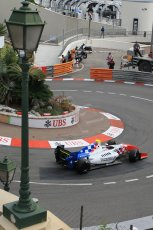 World © Octane Photographic Ltd. Saturday 23rd May 2015. Fortec Motorsports – Oliver Rowland. WSR (World Series by Renault - Formula Renault 3.5) Qualifying – Monaco, Monte-Carlo. Digital Ref. : 1280CB1L0725