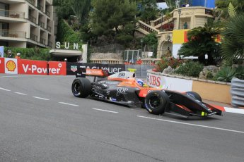 World © Octane Photographic Ltd. Saturday 23rd May 2015. Tech 1 Racing – Aurelien Panis. WSR (World Series by Renault - Formula Renault 3.5) Qualifying – Monaco, Monte-Carlo. Digital Ref. : 1280CB1L0790