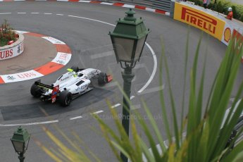 World © Octane Photographic Ltd. Saturday 23rd May 2015. International Draco Racing – Bruno Bonifacio. WSR (World Series by Renault - Formula Renault 3.5) Qualifying – Monaco, Monte-Carlo. Digital Ref. : 1280CB1L0874