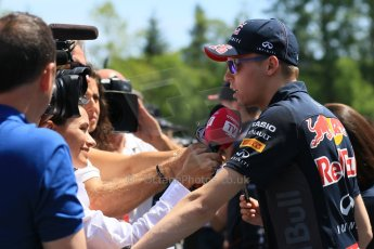 World © Octane Photographic Ltd. FIA Drivers' Press Conference video call. Thursday 4th June 2015, F1 Canadian GP, Circuit Gilles Villeneuve, Montreal, Canada. Infiniti Red Bull Racing – Daniil Kvyat. Digital Ref: 1289CB7D8489