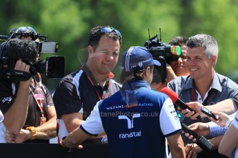 World © Octane Photographic Ltd. FIA Drivers' Press Conference video call. Thursday 4th June 2015, F1 Canadian GP, Circuit Gilles Villeneuve, Montreal, Canada. Williams Martini Racing – Felipe Massa. Digital Ref: 1289CB7D8557