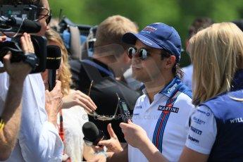 World © Octane Photographic Ltd. FIA Drivers' Press Conference video call. Thursday 4th June 2015, F1 Canadian GP, Circuit Gilles Villeneuve, Montreal, Canada. Williams Martini Racing – Felipe Massa. Digital Ref: 1289CB7D8632