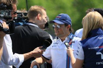 World © Octane Photographic Ltd. FIA Drivers' Press Conference video call. Thursday 4th June 2015, F1 Canadian GP, Circuit Gilles Villeneuve, Montreal, Canada. Williams Martini Racing – Felipe Massa. Digital Ref: 1289CB7D8639