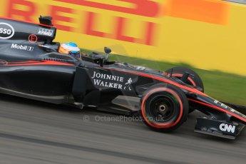 World © Octane Photographic Ltd. McLaren Honda MP4/30 – Fernando Alonso. Friday 5th June 2015, F1 Canadian GP Practice 2, Circuit Gilles Villeneuve, Montreal, Canada. Digital Ref: 1292LB7D0140