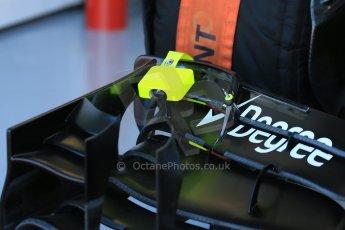 World © Octane Photographic Ltd. Williams Martini Racing FW37 – Felipe Massa front wing. Saturday 6th June 2015, F1 Canadian GP Practice 3 pitlane, Circuit Gilles Villeneuve, Montreal, Canada. Digital Ref: 1295LB1D0752