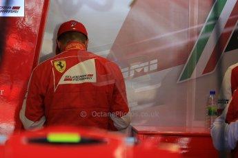 World © Octane Photographic Ltd. Scuderia Ferrari SF15-T– Kimi Raikkonen. Saturday 6th June 2015, F1 Canadian GP Practice 3 pitlane, Circuit Gilles Villeneuve, Montreal, Canada. Digital Ref: 1295LB1D0991