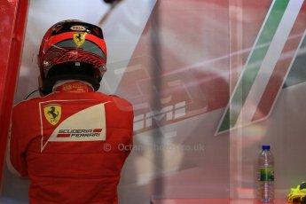 World © Octane Photographic Ltd. Scuderia Ferrari SF15-T– Kimi Raikkonen. Saturday 6th June 2015, F1 Canadian GP Practice 3 pitlane, Circuit Gilles Villeneuve, Montreal, Canada. Digital Ref: 1295LB1D1004