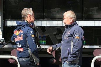 World © Octane Photographic Ltd. Infiniti Red Bull Racing – Helmut Marko. Saturday 6th June 2015, F1 Canadian GP Practice 3 pitlane, Circuit Gilles Villeneuve, Montreal, Canada. Digital Ref: 1295LB1D1082
