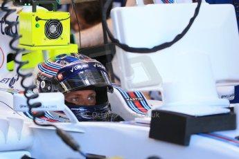 World © Octane Photographic Ltd. Williams Martini Racing FW37 – Valtteri Bottas. Saturday 6th June 2015, F1 Canadian GP Practice 3 pitlane, Circuit Gilles Villeneuve, Montreal, Canada. Digital Ref: 1295LB1D1218