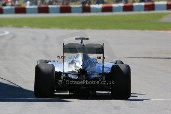 World © Octane Photographic Ltd. Mercedes AMG Petronas F1 W06 Hybrid – Lewis Hamilton. Saturday 6th June 2015, F1 Canadian GP Practice 3 pitlane, Circuit Gilles Villeneuve, Montreal, Canada. Digital Ref: 1295LB1D1370