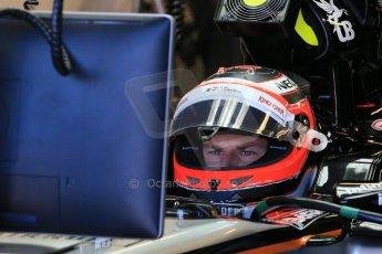 World © Octane Photographic Ltd. Sahara Force India VJM08 – Nico Hulkenberg. Saturday 6th June 2015, F1 Canadian GP Practice 3 pitlane, Circuit Gilles Villeneuve, Montreal, Canada. Digital Ref: 1295LB1D1415