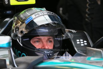 World © Octane Photographic Ltd. Mercedes AMG Petronas F1 W06 Hybrid – Nico Rosberg. Saturday 6th June 2015, F1 Practice 3 pitlane, Circuit Gilles Villeneuve, Montreal, Canada. Digital Ref: 1295LB1D1699