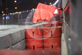 World © Octane Photographic Ltd. Red Flag. Friday 18th September 2015, F1 Singapore Grand Prix Practice 2, Marina Bay. Digital Ref: 1429CB5D0250