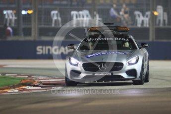 World © Octane Photographic Ltd. Safety Car. Friday 18th September 2015, F1 Singapore Grand Prix Practice 2, Marina Bay. Digital Ref: 1429CB7D0275