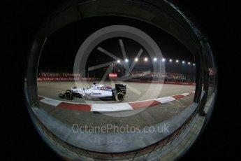 World © Octane Photographic Ltd. Williams Martini Racing FW37 – Felipe Massa. Friday 18th September 2015, F1 Singapore Grand Prix Practice 2, Marina Bay. Digital Ref: 1429LB1D6294