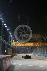 World © Octane Photographic Ltd. McLaren Honda MP4/30 - Jenson Button. Friday 18th September 2015, F1 Singapore Grand Prix Practice 2, Marina Bay. Digital Ref: 1429LB1D6541