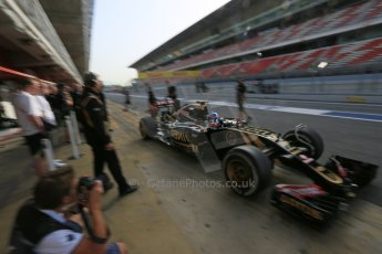 World © Octane Photographic Ltd. Lotus F1 Team E23 Hybrid – Jolyon Palmer. Wednesday 13th May 2015, F1 In-season testing, Circuit de Barcelona-Catalunya, Spain. Digital Ref: 1269LB5D2302