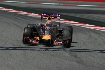 World © Octane Photographic Ltd. Infiniti Red Bull Racing RB11 – Daniel Ricciardo. Saturday 9th May 2015, F1 Spanish GP Qualifying, Circuit de Barcelona-Catalunya, Spain. Digital Ref: 1257LB1D8421