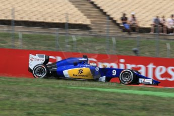 World © Octane Photographic Ltd. Sauber F1 Team C34-Ferrari – Marcus Ericsson. Saturday 9th May 2015, F1 Spanish GP Qualifying, Circuit de Barcelona-Catalunya, Spain. Digital Ref: 1257LW1L7895