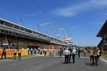 World © Octane Photographic Ltd. Sunday 10th May 2015, F1 Spanish GP Formula 1 Grid, Circuit de Barcelona-Catalunya, Spain. Digital Ref: 1264LB1D0112