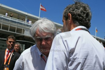 World © Octane Photographic Ltd. Bernie Ecclestone. Sunday 10th May 2015, F1 Spanish GP Formula 1 Grid, Circuit de Barcelona-Catalunya, Spain. Digital Ref: 1264LB1D0189